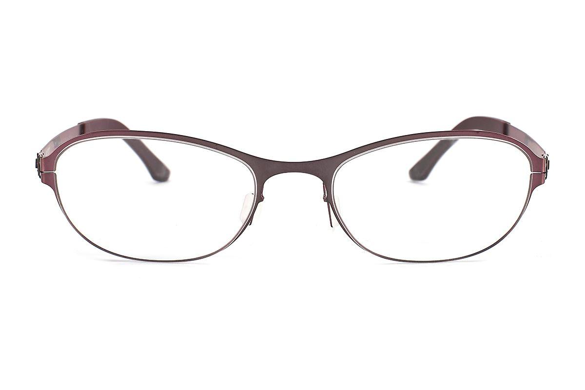 严选日制薄刚眼镜 FXS2-1508-BO2