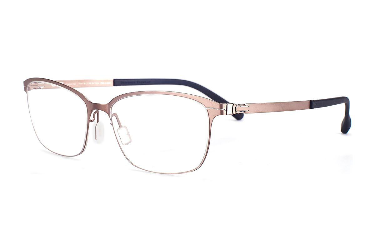严选日制薄刚眼镜 FXS2-1502-BO1