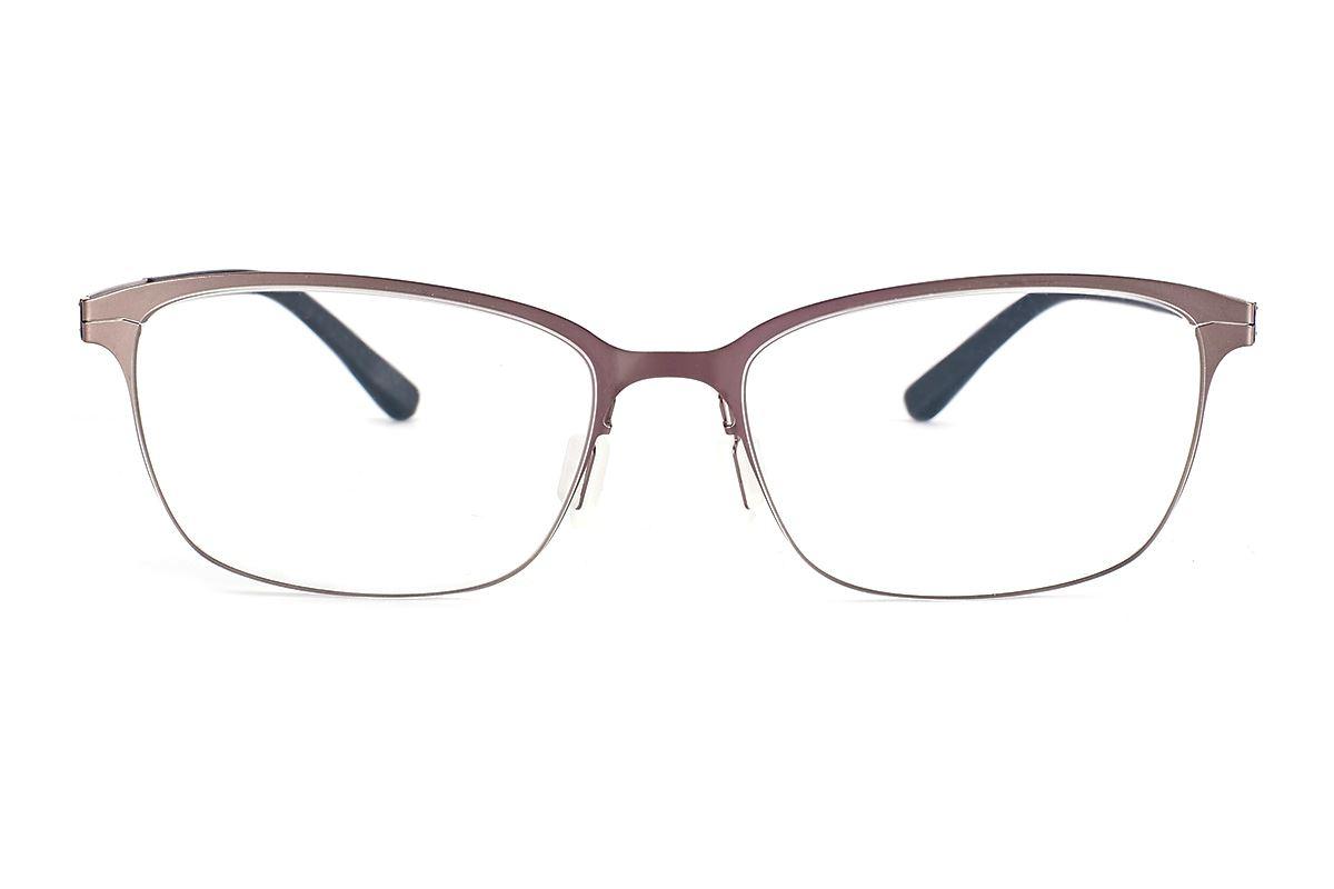 严选日制薄刚眼镜 FXS2-1502-BO2