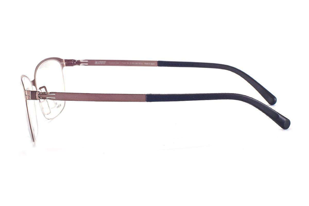 严选日制薄刚眼镜 FXS2-1502-BO3