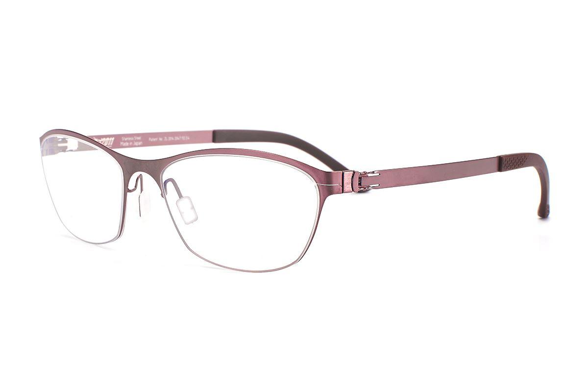 嚴選日製薄剛眼鏡 FXS2-1503-BO1
