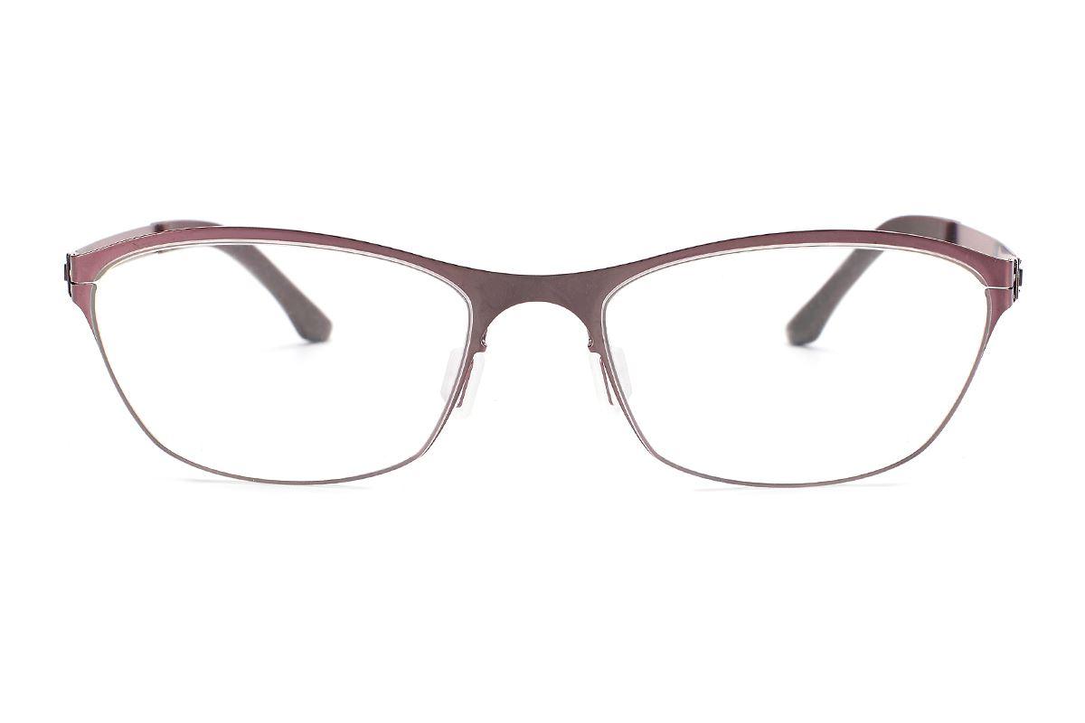 嚴選日製薄剛眼鏡 FXS2-1503-BO2