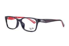 Glasses-Ray Ban RB5330-黑紅