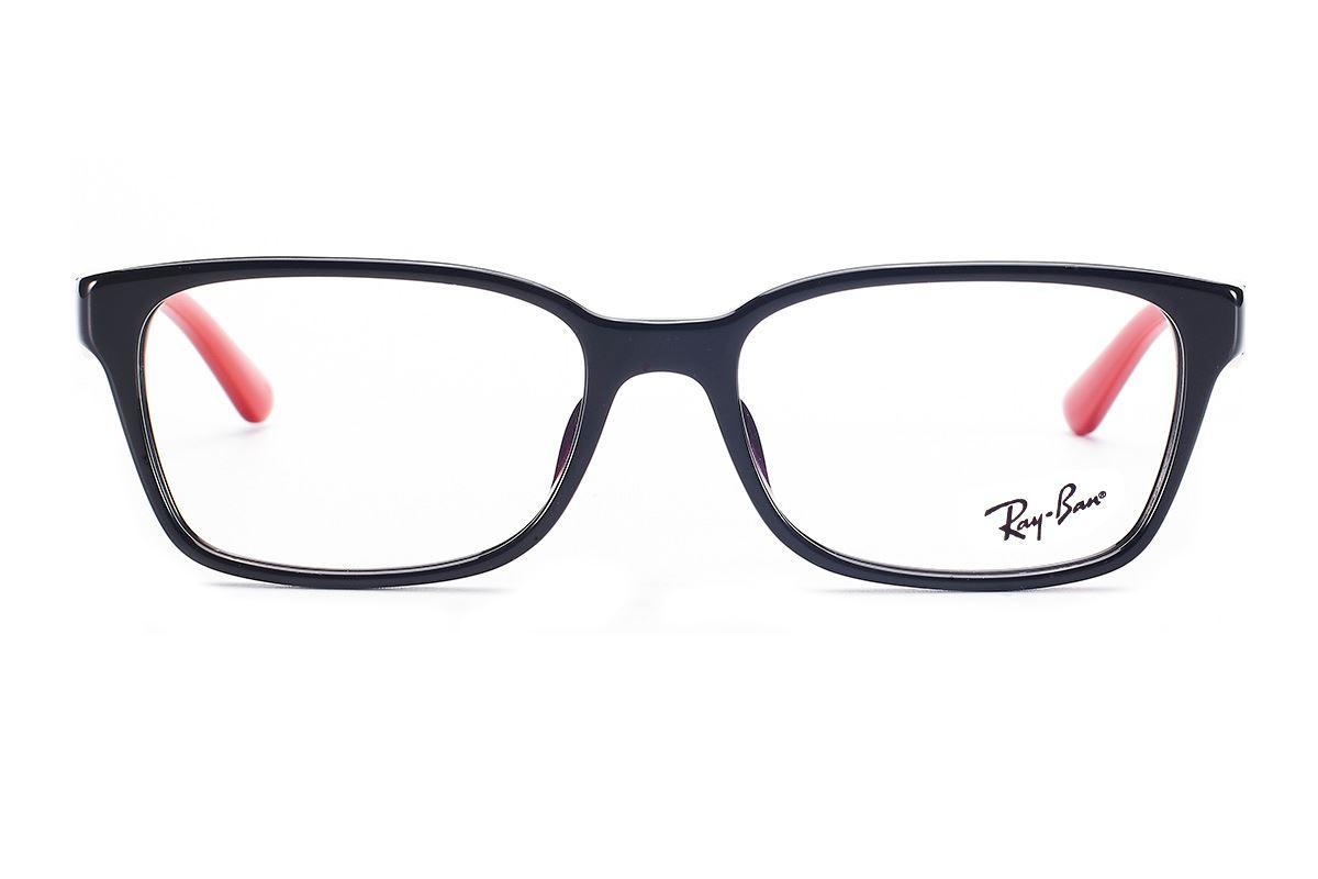 雷朋板料质感胶框 RB5330-黑红2