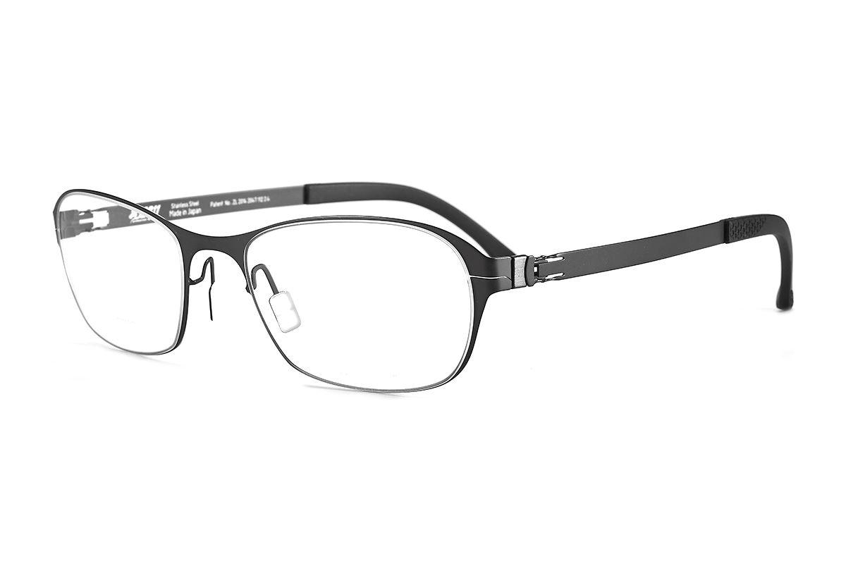 严选日制薄刚眼镜 FXS2-1504-BA1
