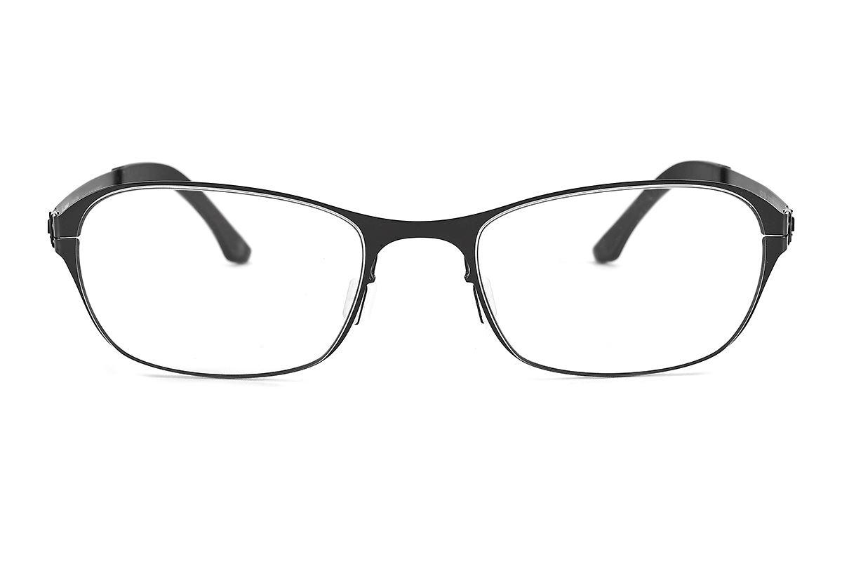 严选日制薄刚眼镜 FXS2-1504-BA2