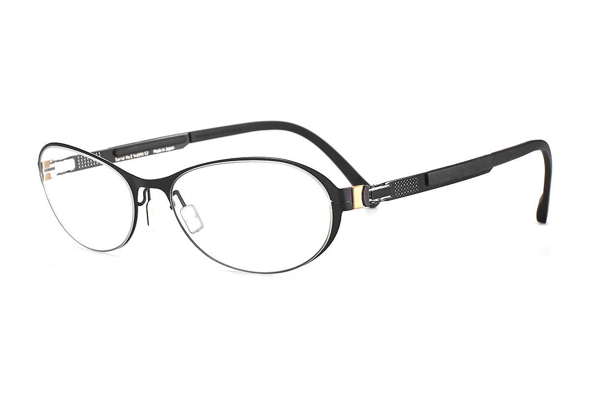 嚴選日製薄剛眼鏡 FS2M-618-BA1