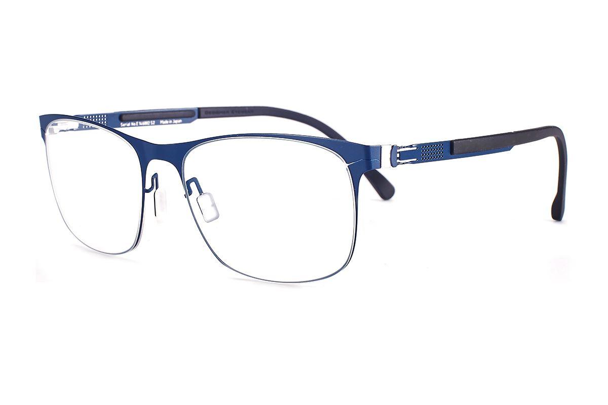 严选日制薄刚眼镜 FS2M-610-BU1