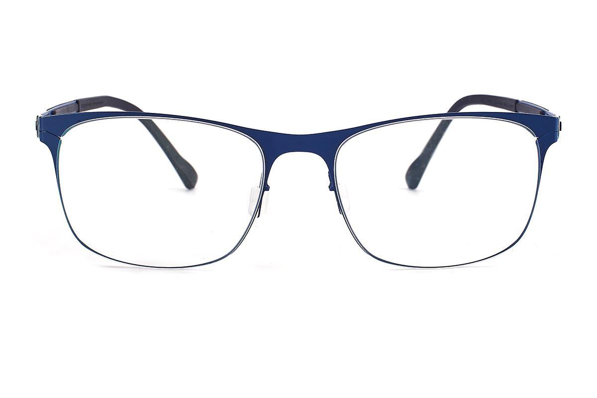 严选日制薄刚眼镜 FS2M-610-BU2