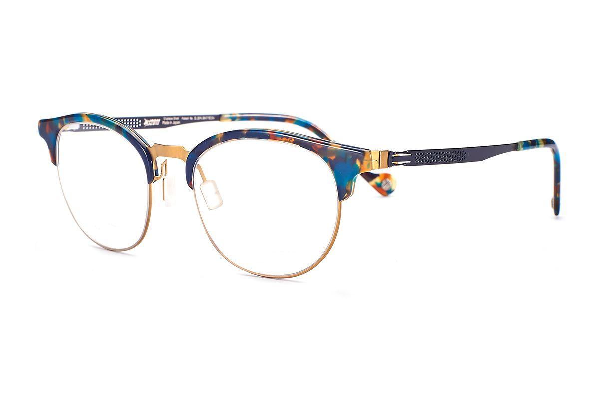 嚴選日製薄剛眼鏡 FS2S-632-GO1
