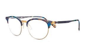 眼鏡鏡框-嚴選日製薄剛眼鏡 FS2S-632-GO