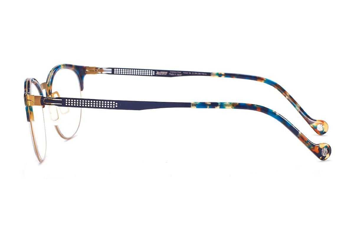 嚴選日製薄剛眼鏡 FS2S-632-GO3