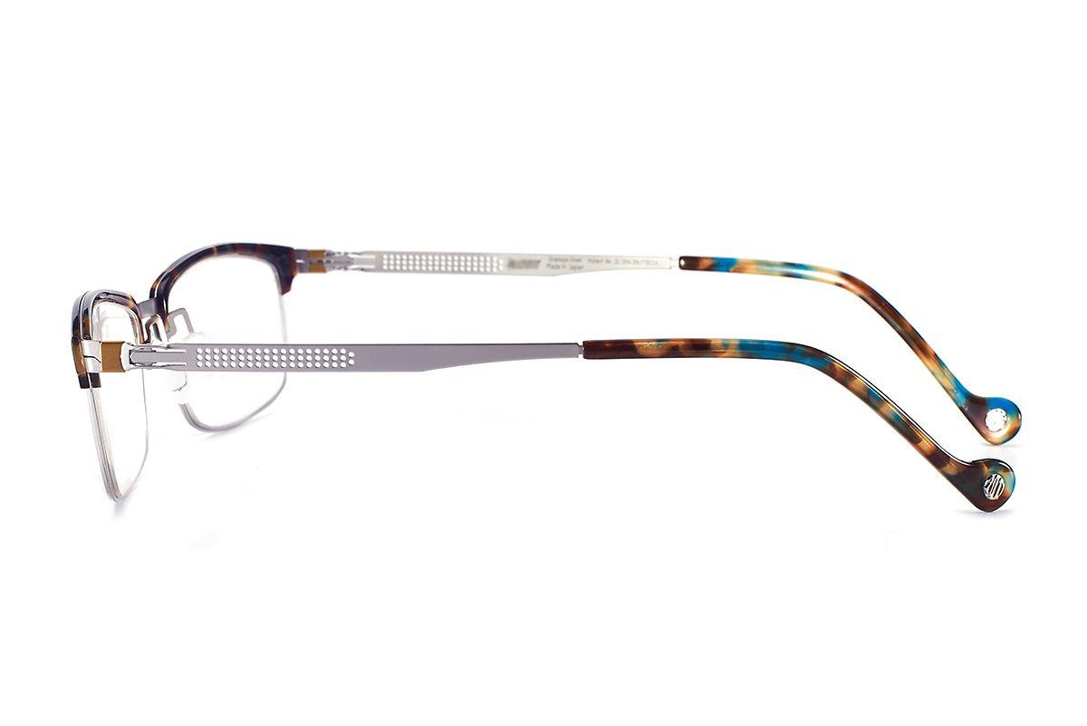 严选日制薄刚眼镜 FS2S-633-SI3