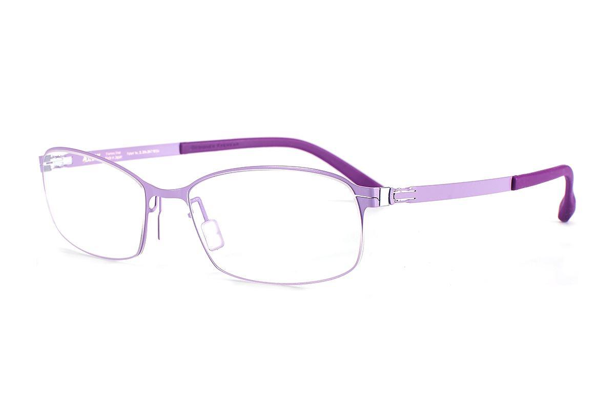 严选日制薄刚眼镜 FX2S-1503-PU1
