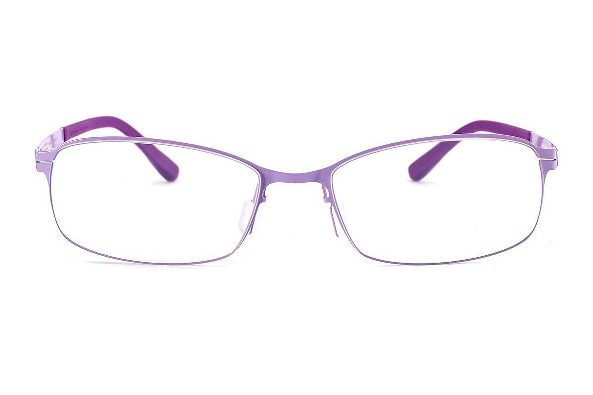 严选日制薄刚眼镜 FX2S-1503-PU2