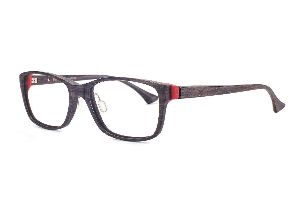 严选高质感木质眼镜 FOL3035-BO1