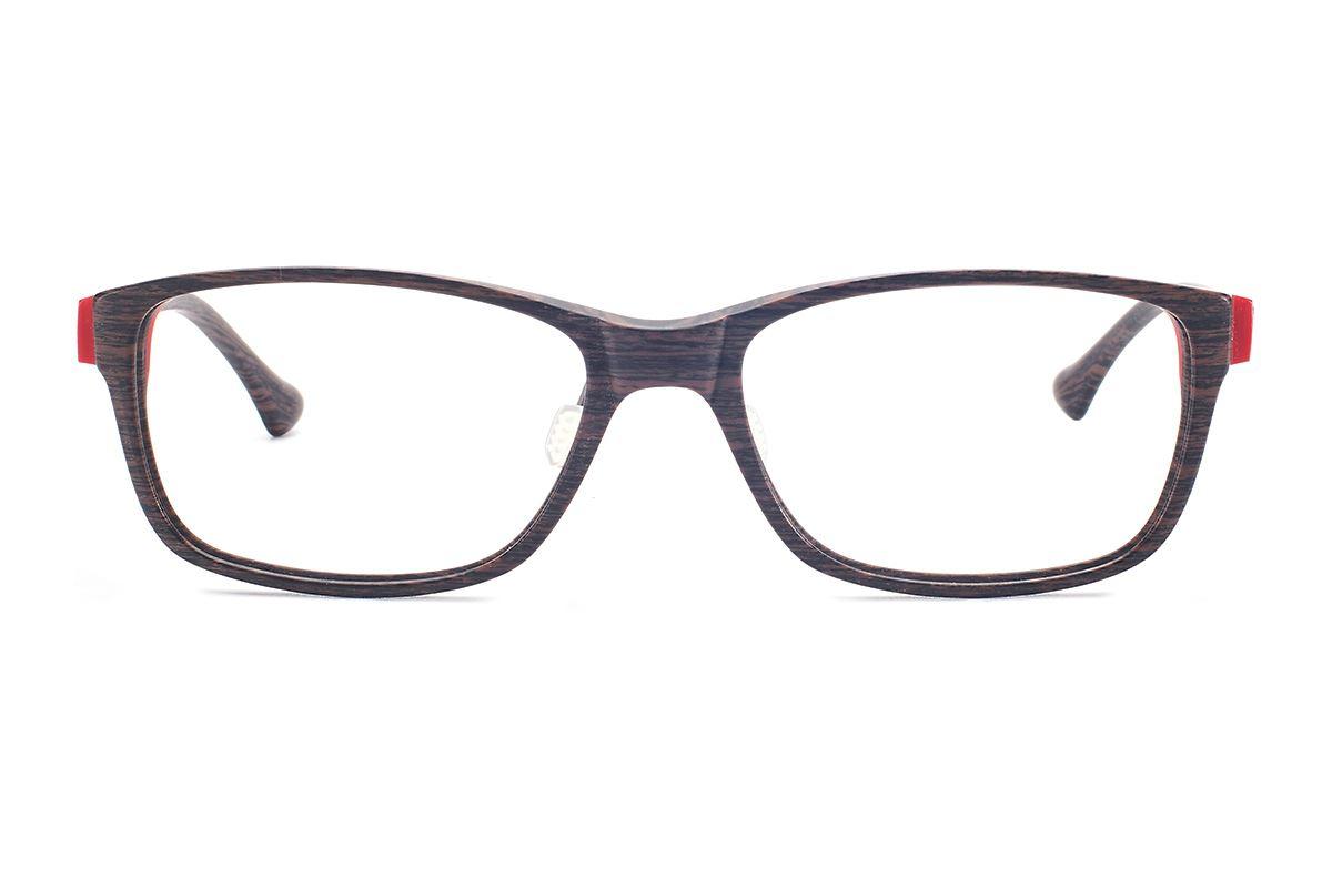 严选高质感木质眼镜 FOL3035-BO2