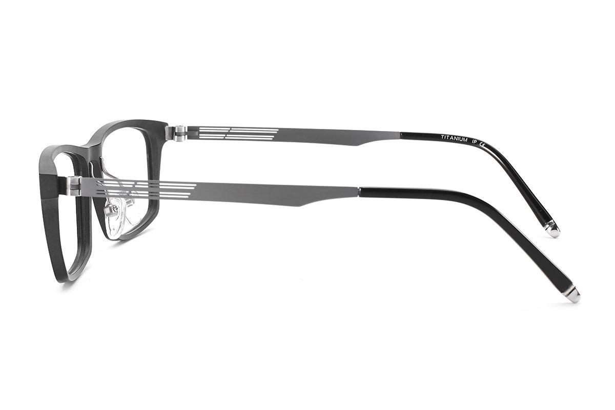 严选高质感钛镜框 H6215-BA3