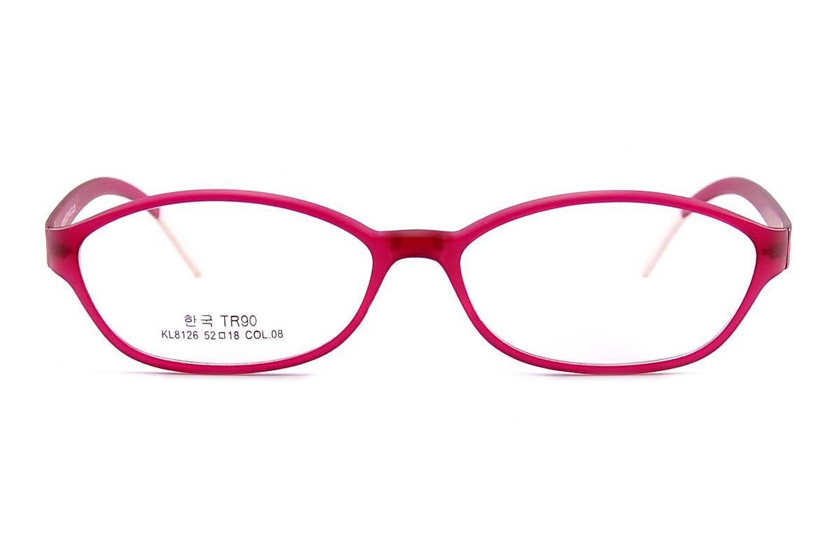 嚴選極輕眼鏡框 KL8126-RE2