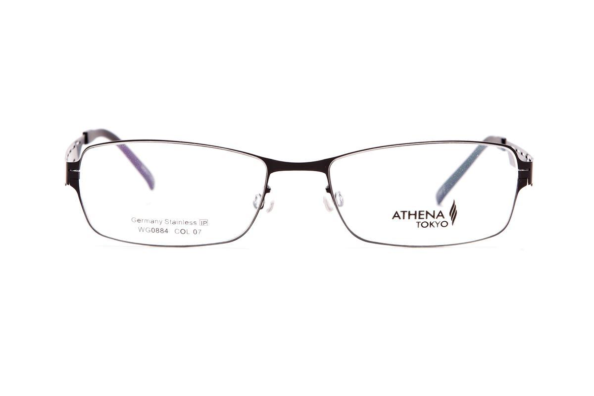 严选高质感薄刚眼镜 WG0884-BA2