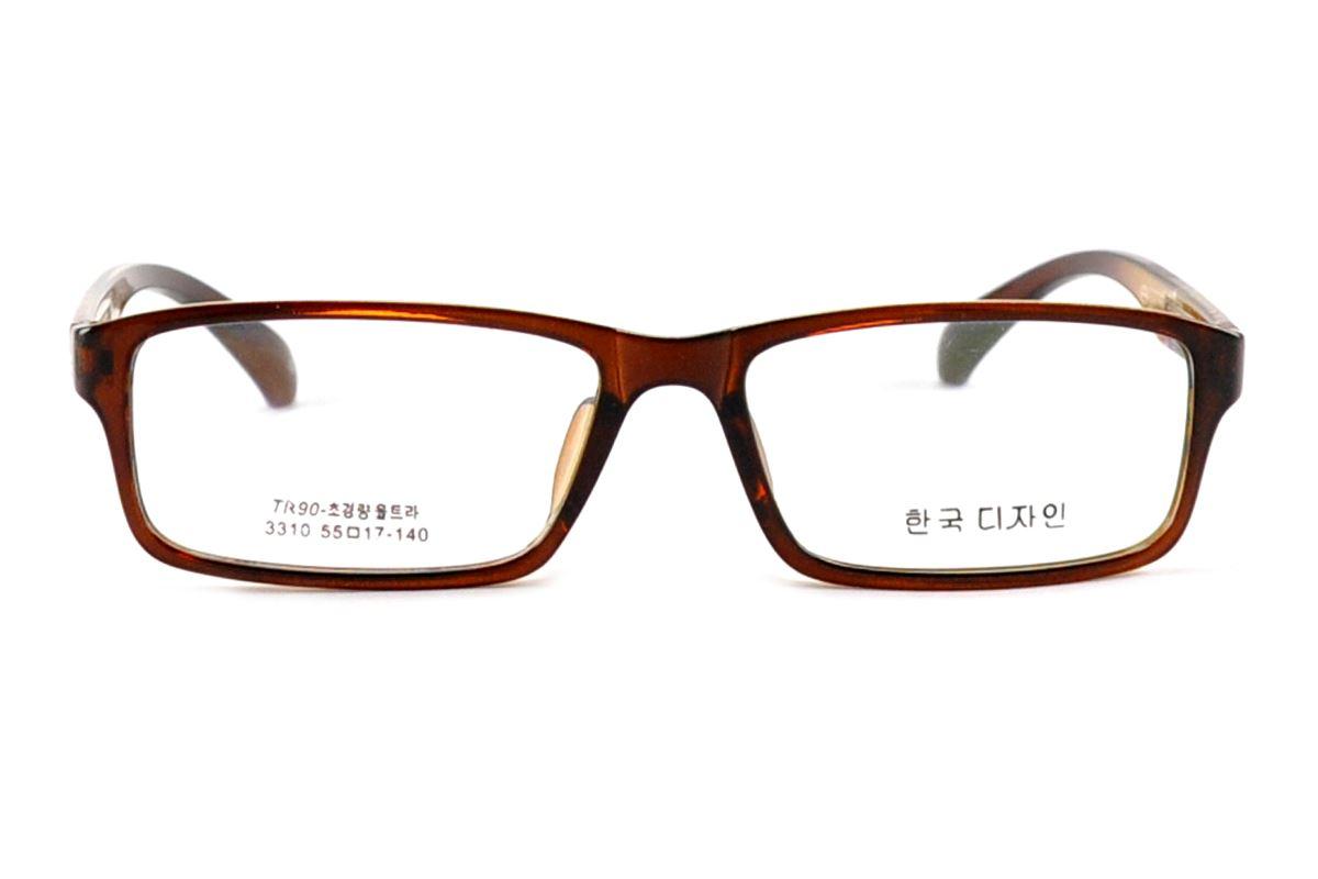 严选流行TR眼镜框 3310-BO2