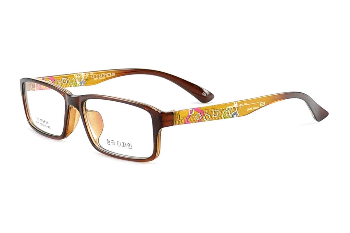 严选流行TR眼镜框 3310-BO1