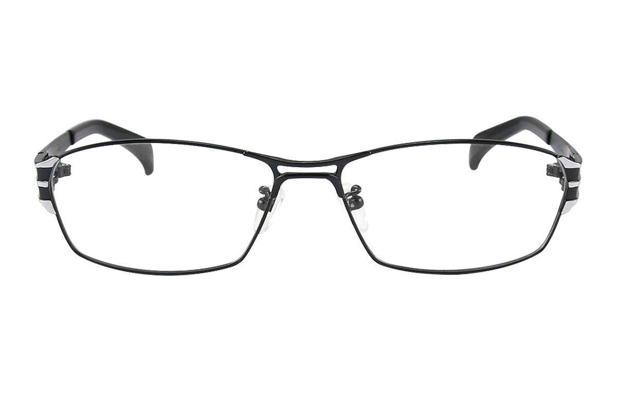 严选高质感纯钛眼镜 11341-BA2