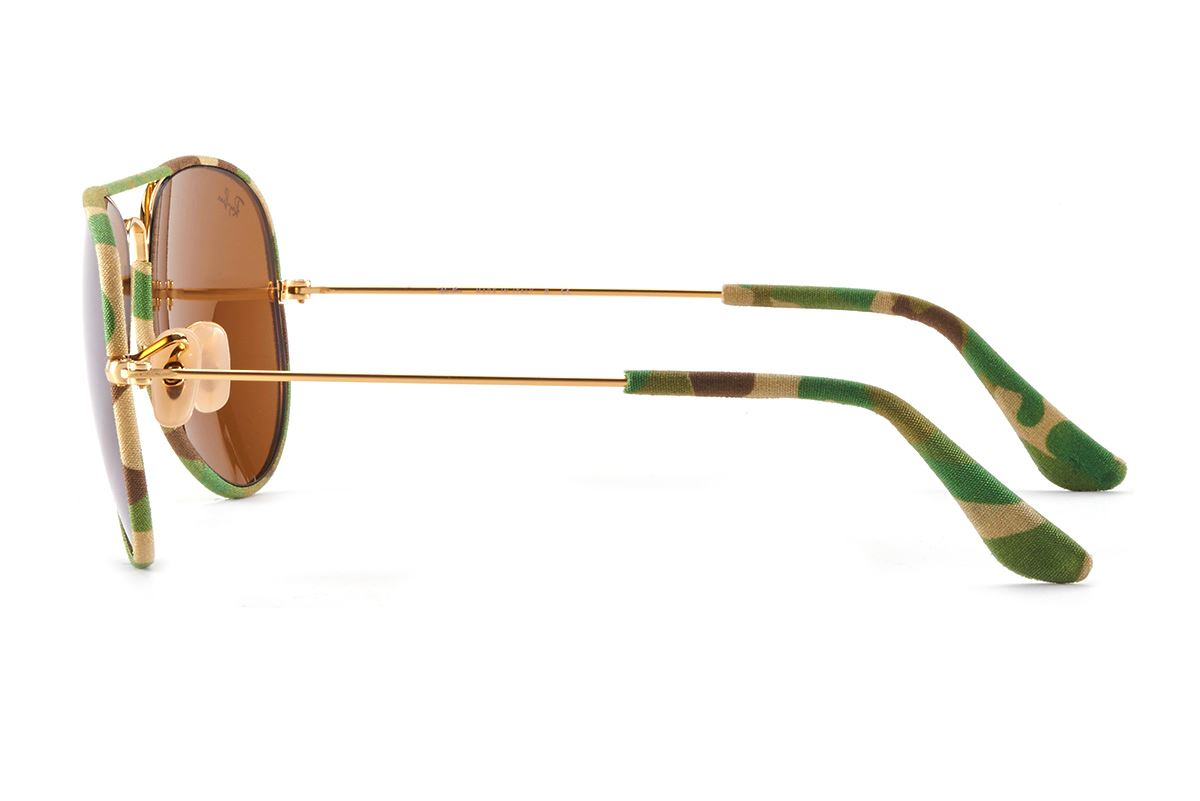 Ray Ban 布面金屬墨鏡 RB3025-GE3