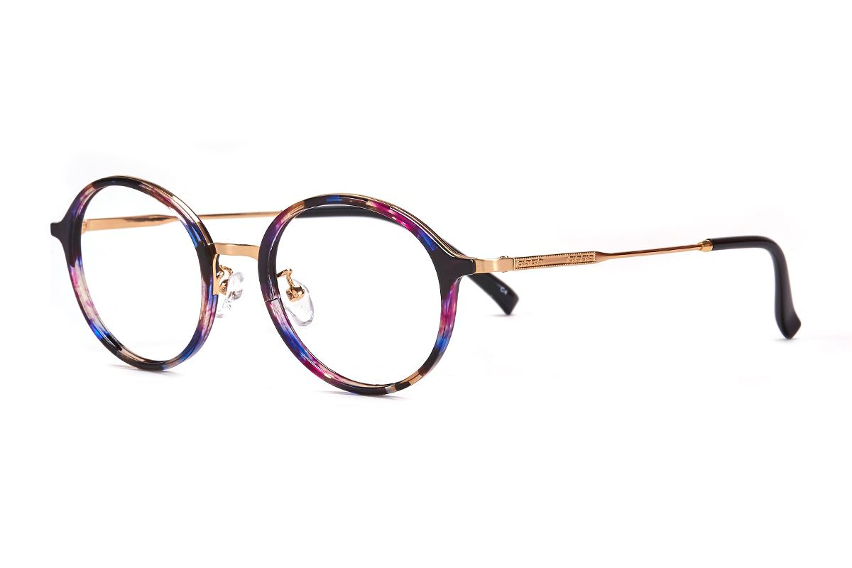 嚴選複合質感眼鏡 FL3458-PU1