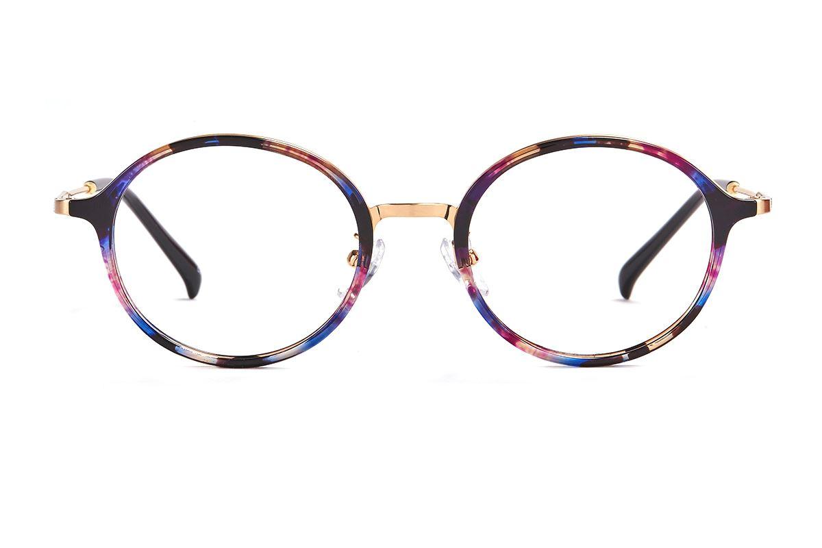 嚴選複合質感眼鏡 FL3458-PU2