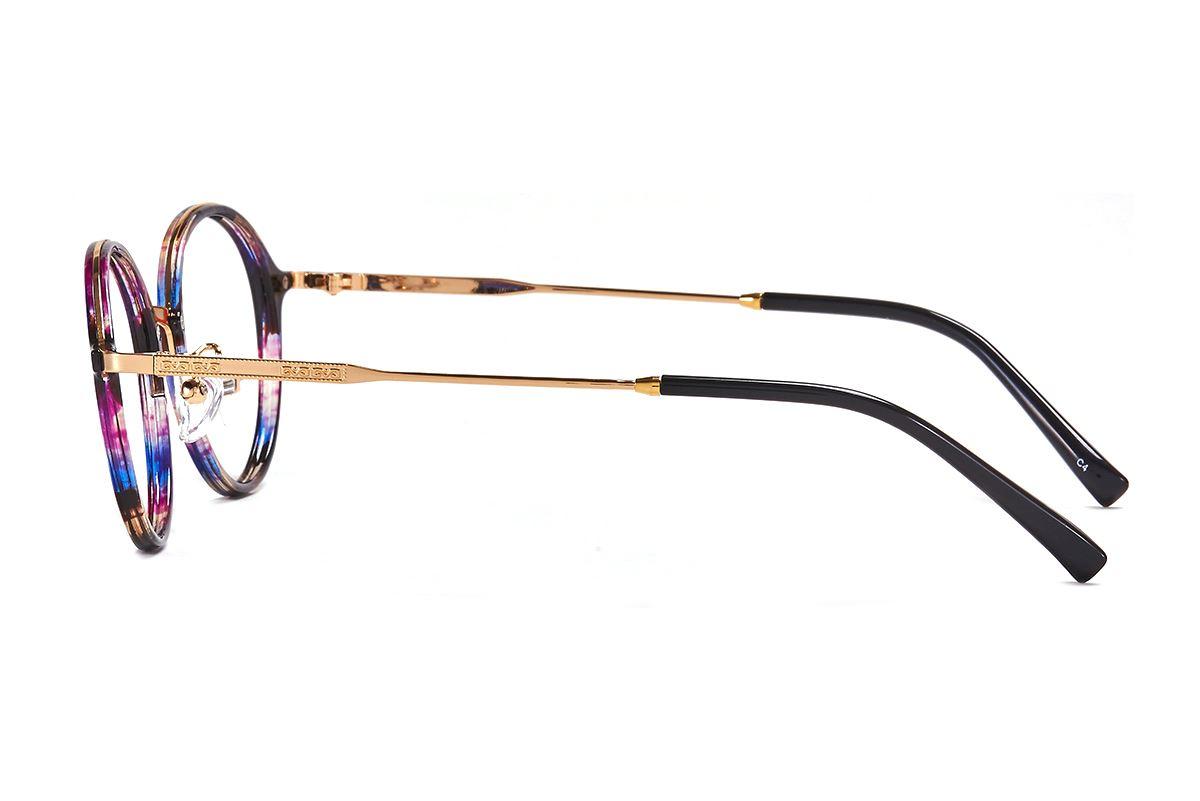 嚴選複合質感眼鏡 FL3458-PU3