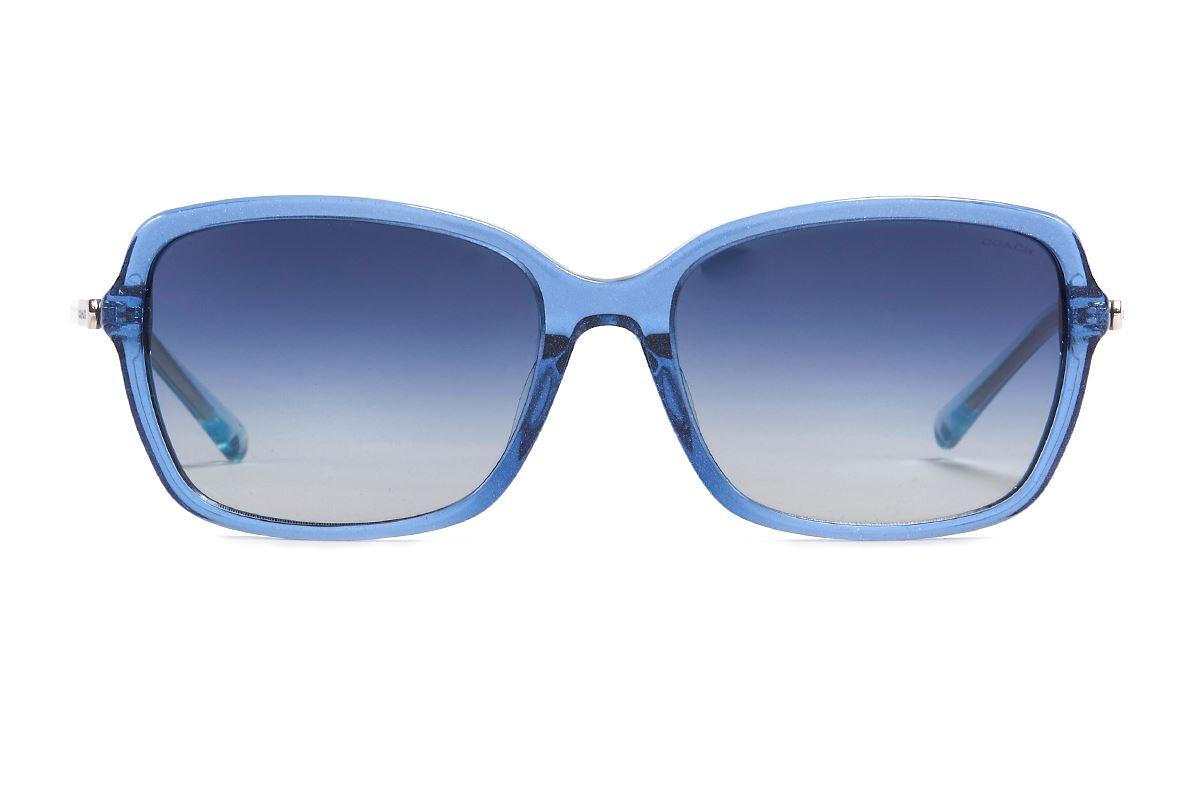 Coach 板料太阳眼镜 HC8152F-BU2