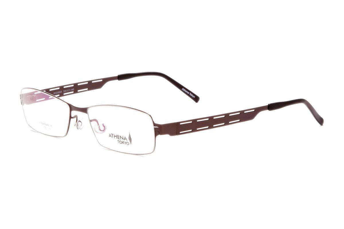 严选高质感薄刚眼镜 WG0883-BO1