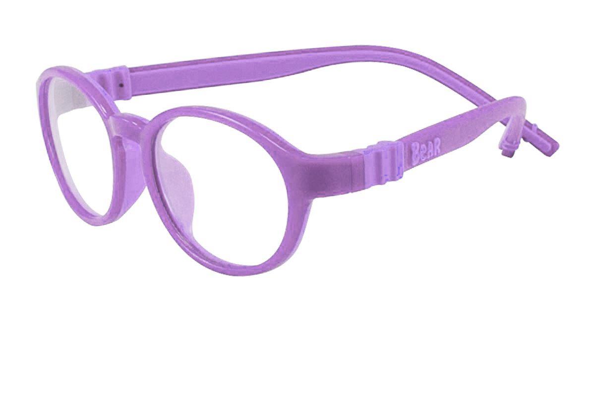 儿童全硅胶双色镜框(B5021紫)1