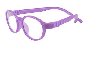 Glasses-兒童全矽膠雙色鏡框(B5021紫)