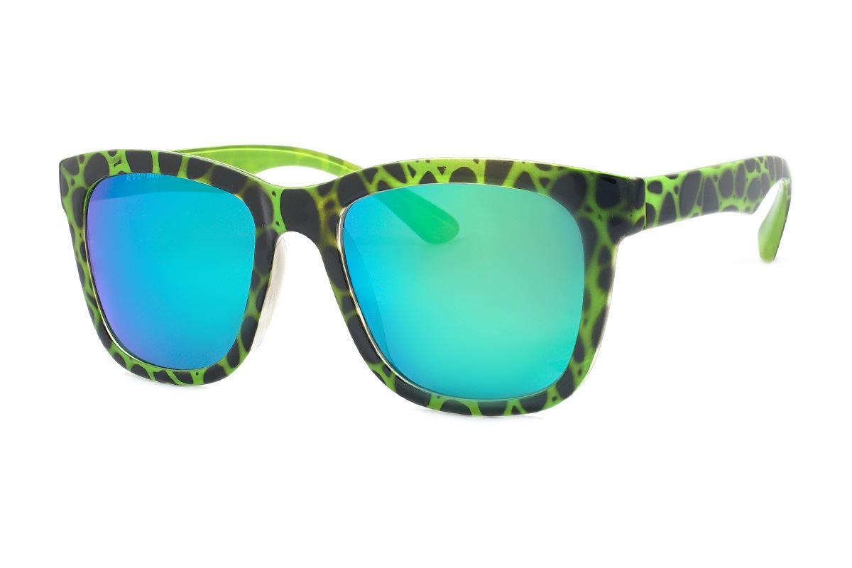 聖誕炫彩太陽眼鏡(F2031綠豹紋)1