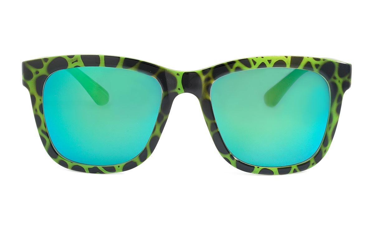 聖誕炫彩太陽眼鏡(F2031綠豹紋)2