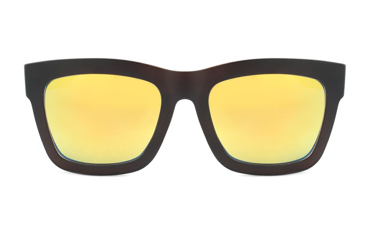 圣诞炫彩太阳眼镜(F2039黑棕)2