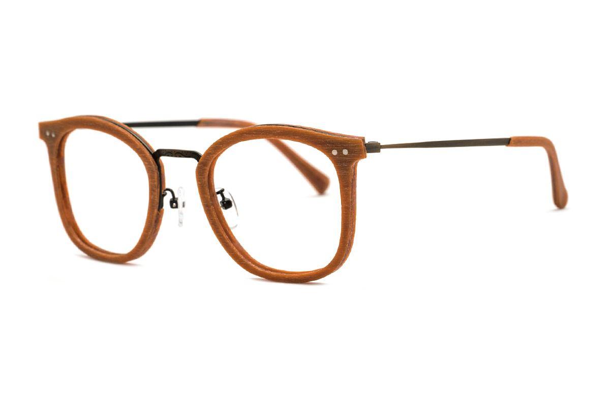嚴選木質眼鏡 M5089-BO1