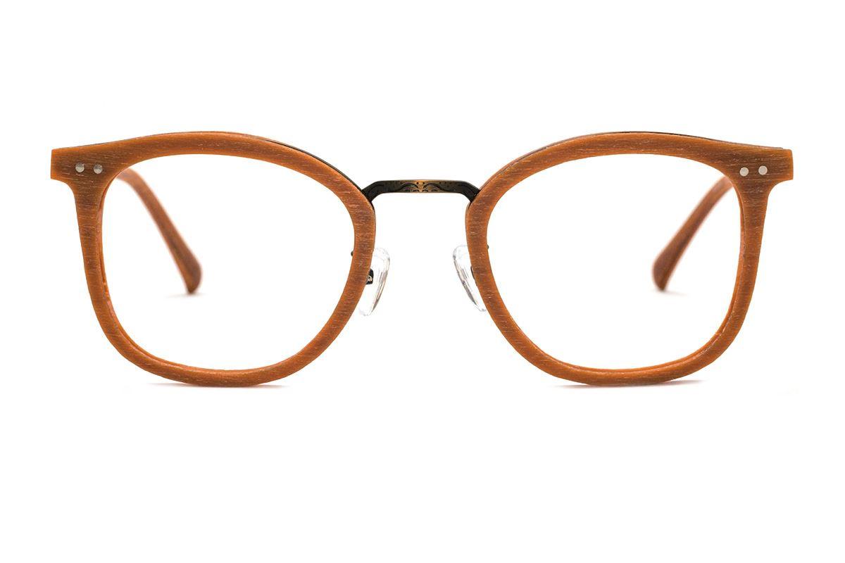 嚴選木質眼鏡 M5089-BO2