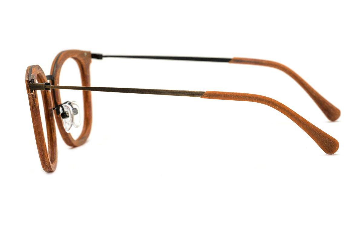 嚴選木質眼鏡 M5089-BO3