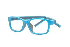 眼鏡鏡框-嚴選兒童全矽膠眼鏡 F519-GR