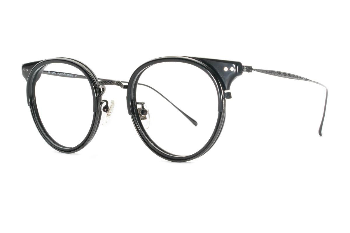 嚴選高質感鈦鏡框 11402-BA1