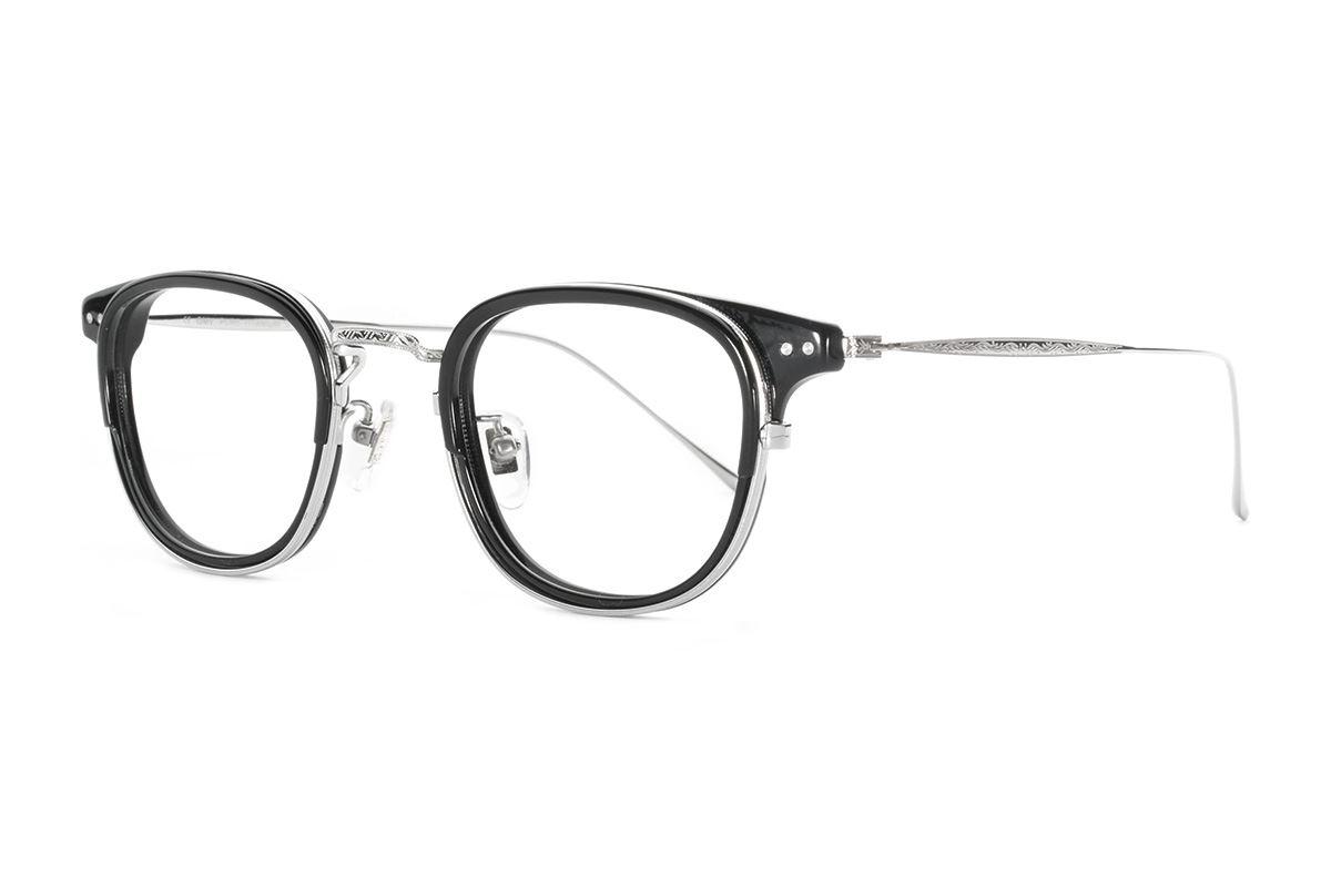 严选高质感纯钛眼镜 11401-BA1