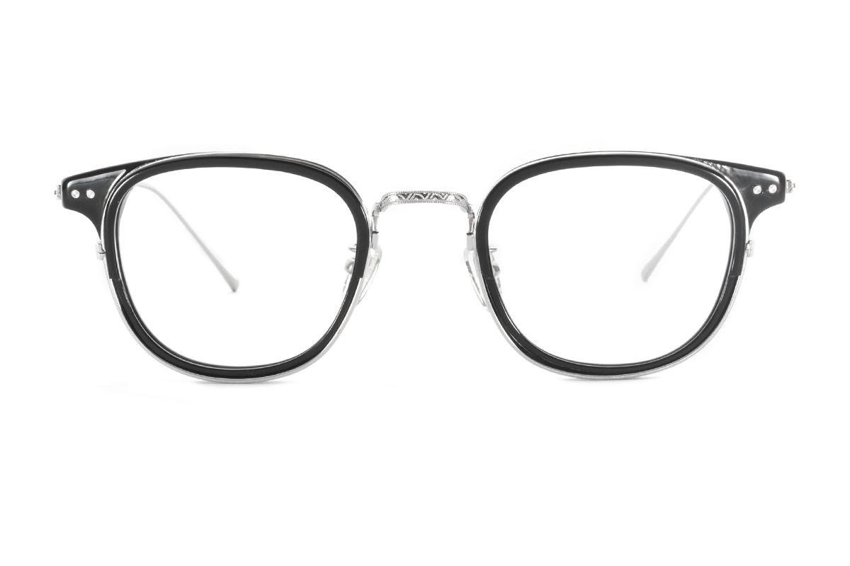 严选高质感纯钛眼镜 11401-BA2