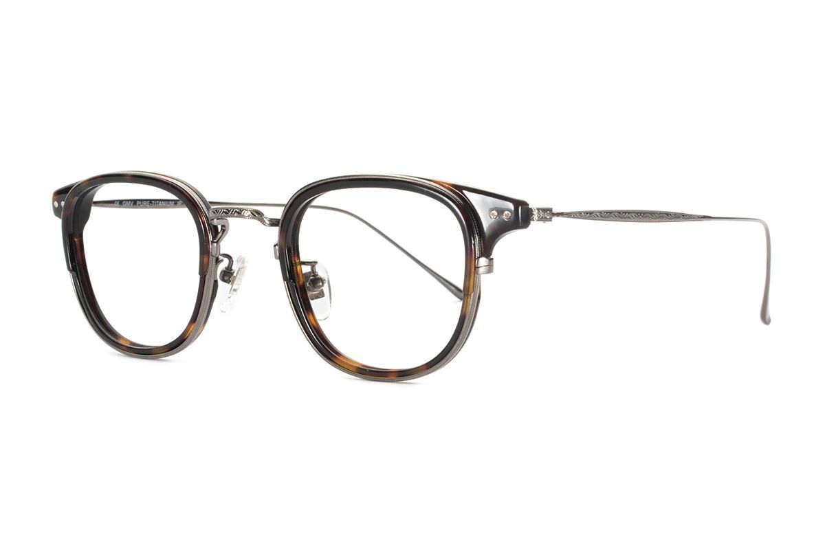 嚴選高質感純鈦眼鏡 11401-AM1