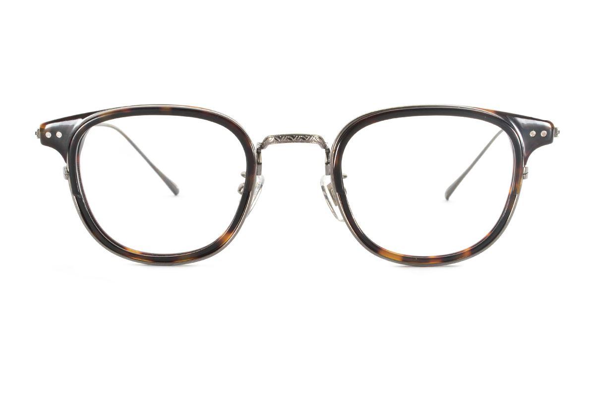 严选高质感纯钛眼镜 11401-AM2