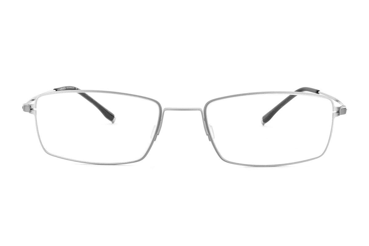 嚴選高質感鈦鏡框 6250-SI2