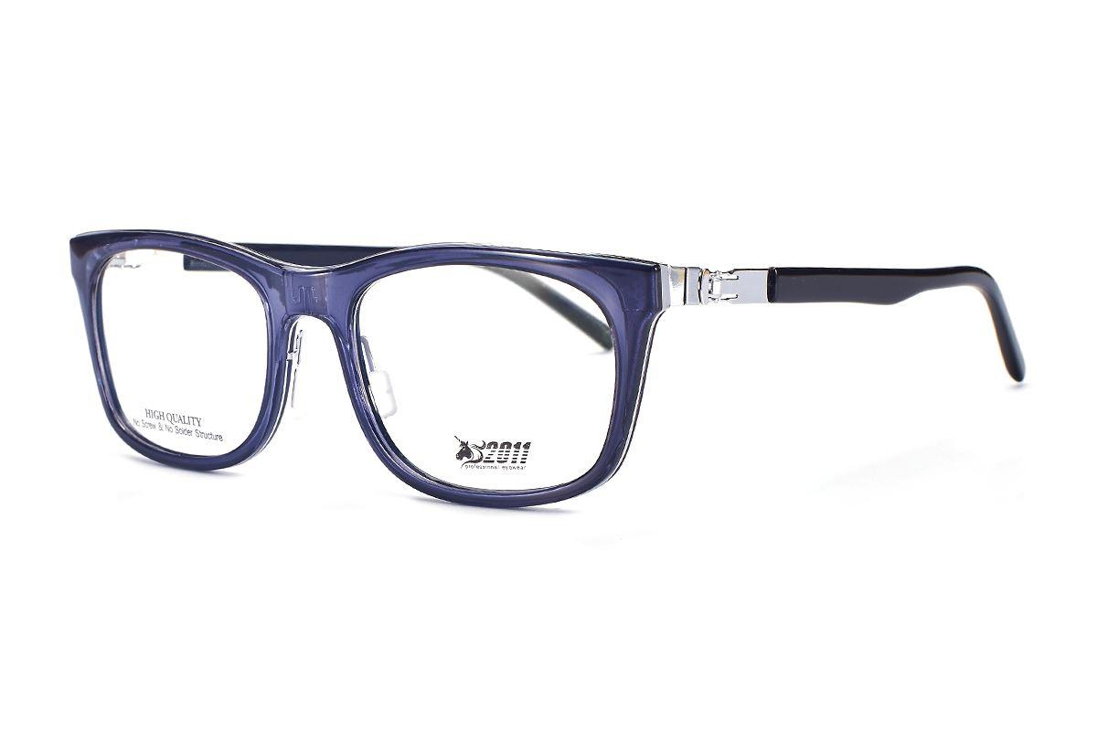 嚴選日製薄鋼眼鏡 F2RM-1501-GR1