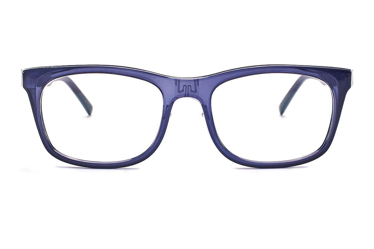 嚴選日製薄鋼眼鏡 F2RM-1501-GR2